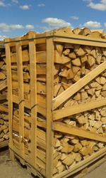 Selling firewood from hardwood.